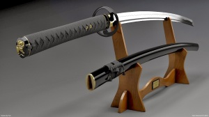 Katana Wallpaper, HD, Samurai Swords