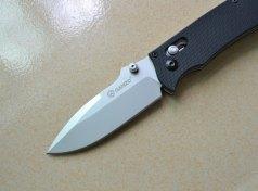 Ganzo-G704-Tatical-Folding-Knife-Axis-Lock-440c-Blade-G10-Handle-Camping-Tool-w-Clip-Gift